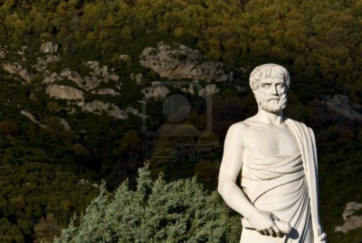 Aristotle-statue-located-at-stageira-of-greece